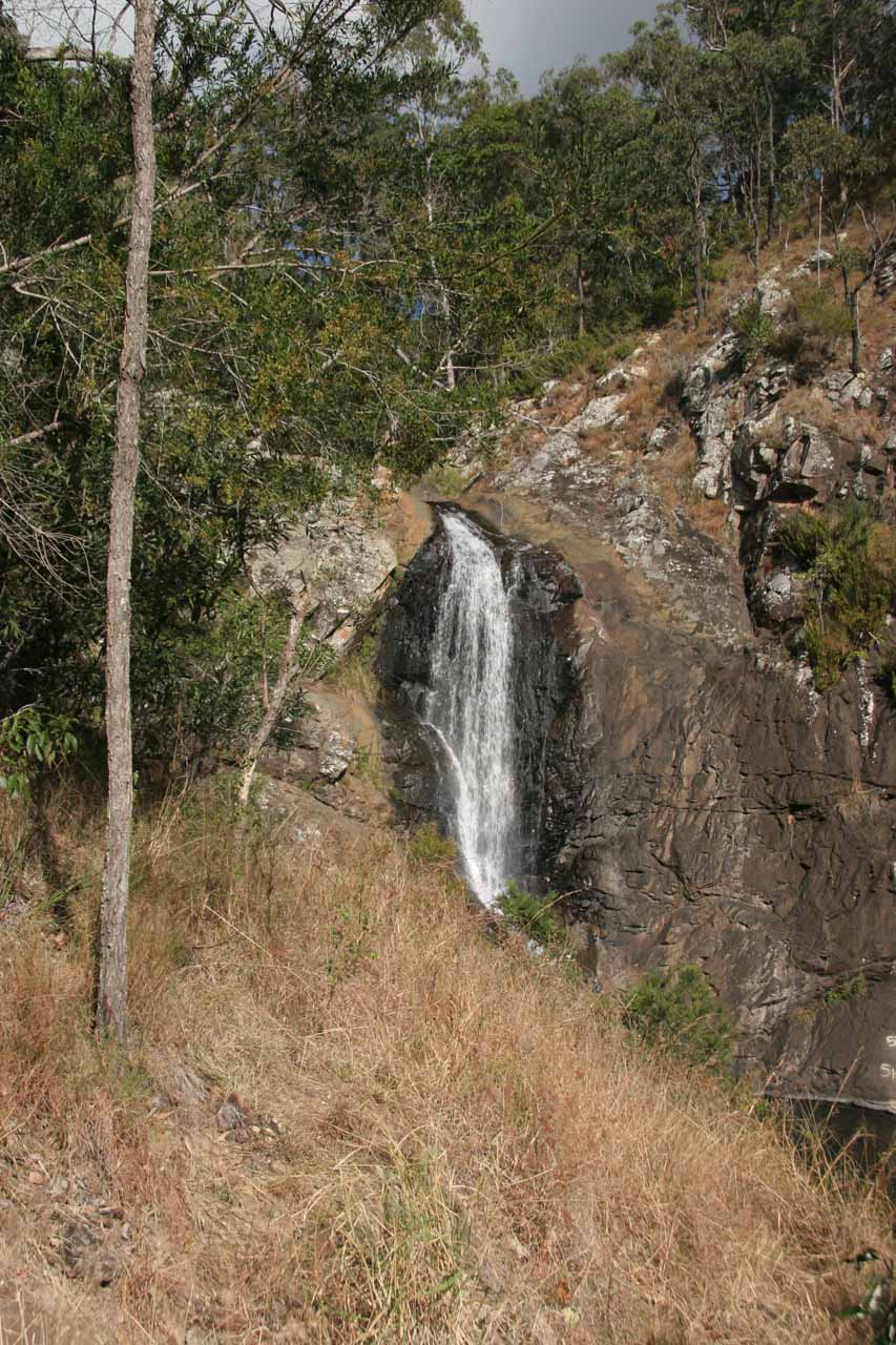 View of Cedar Creek Falls from the bottom