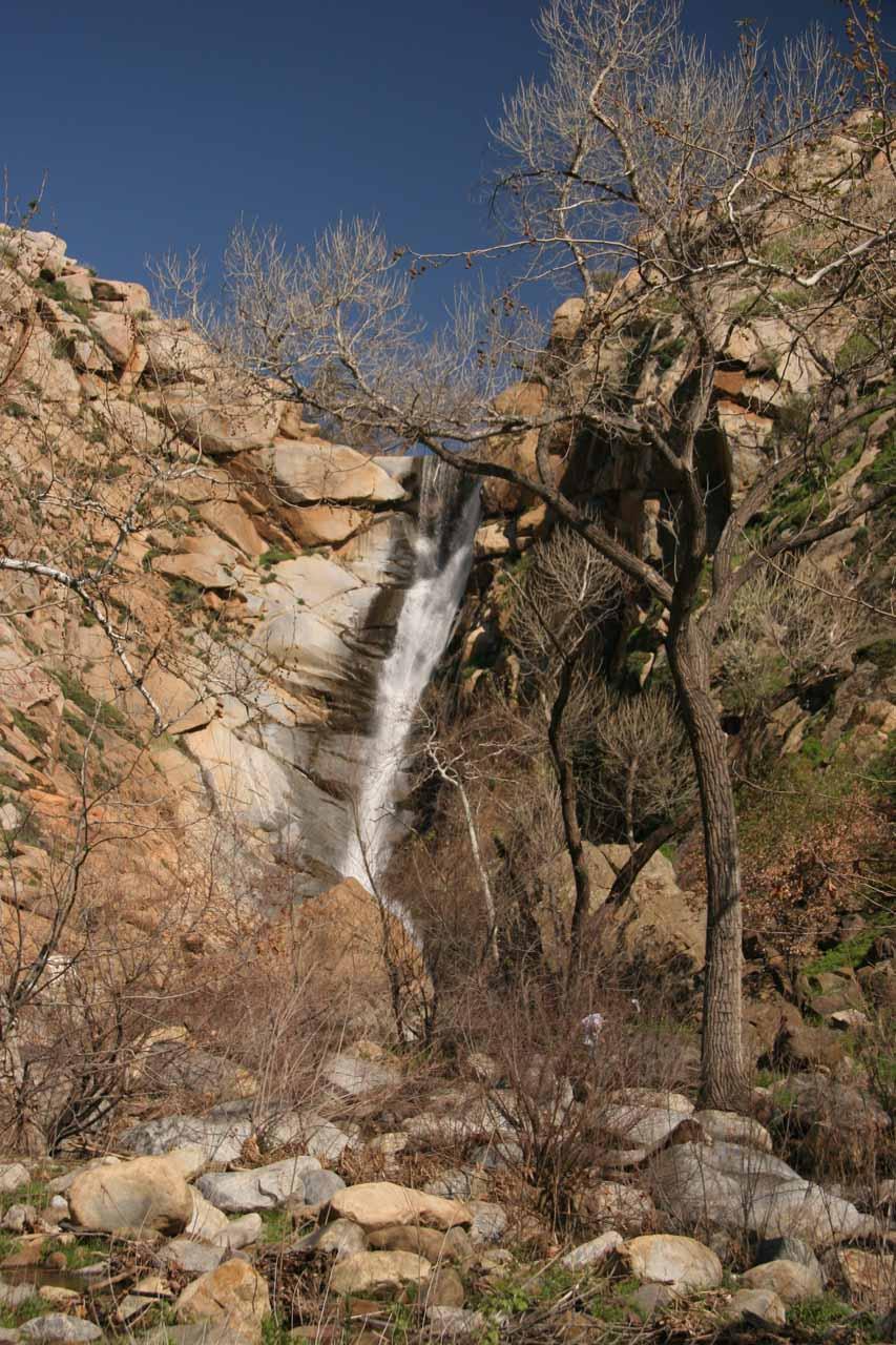 Approaching Cedar Creek Falls (as seen in 2008)