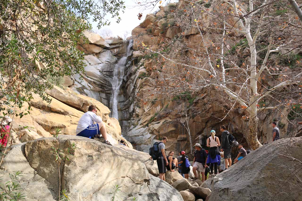 Once we finally arrived at Cedar Creek Falls, we could appreciate why it was so popular
