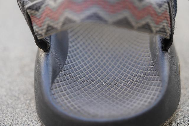 Closeup look at the LUVSEAT sole of the Chaco Z/1 Classic Sandal