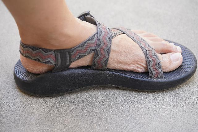 Wearing my Chaco Z/1 Classic sandal