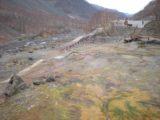Changbaishan_008_jx_05142009 - Looking back at part of the Julong Hot Spring on Changbai Shan