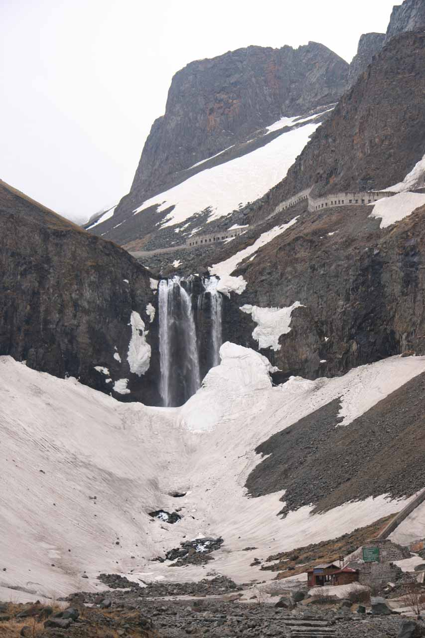 Changbai Waterfall