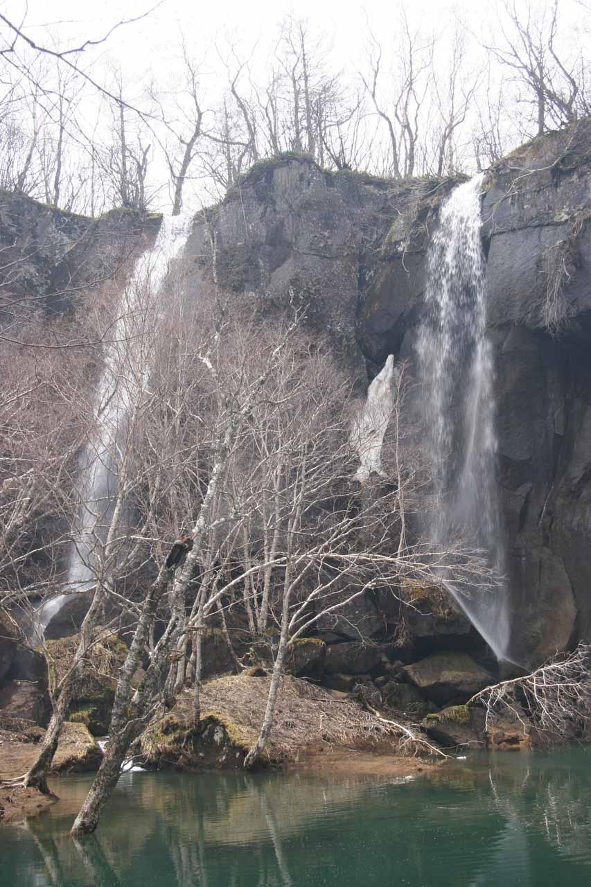Green Deep Pool Waterfall