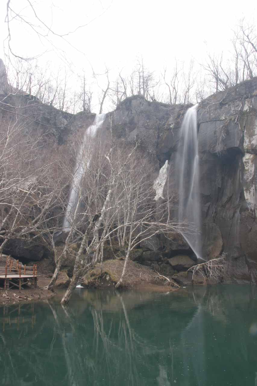 Another look at the Green Deep Pool Waterfall