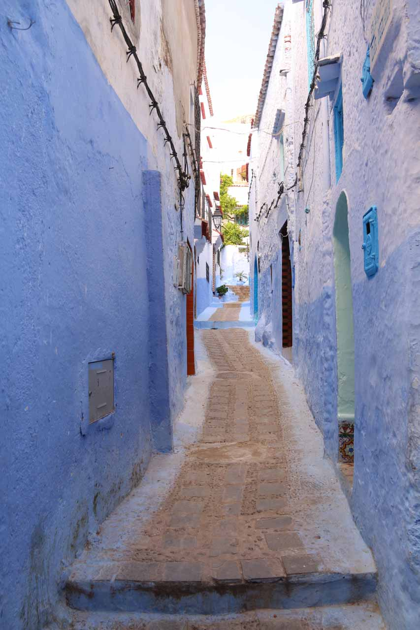 Within the atmospheric alleyways of Chefchaouen
