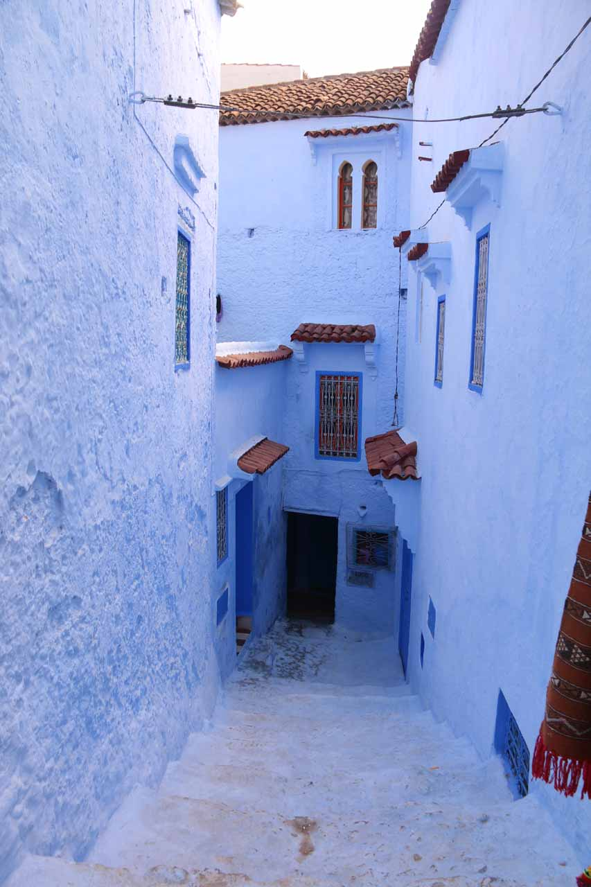 The atmospheric blue buildings of Chefchaouen