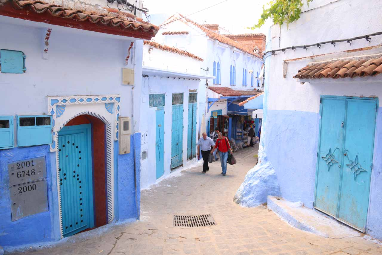 The medina of Chefchaouen