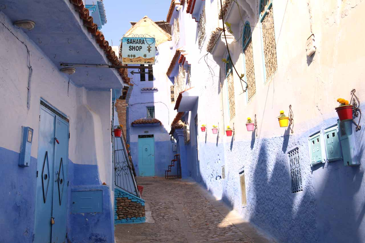 More exploring of the charming alleyways of Chefchaouen