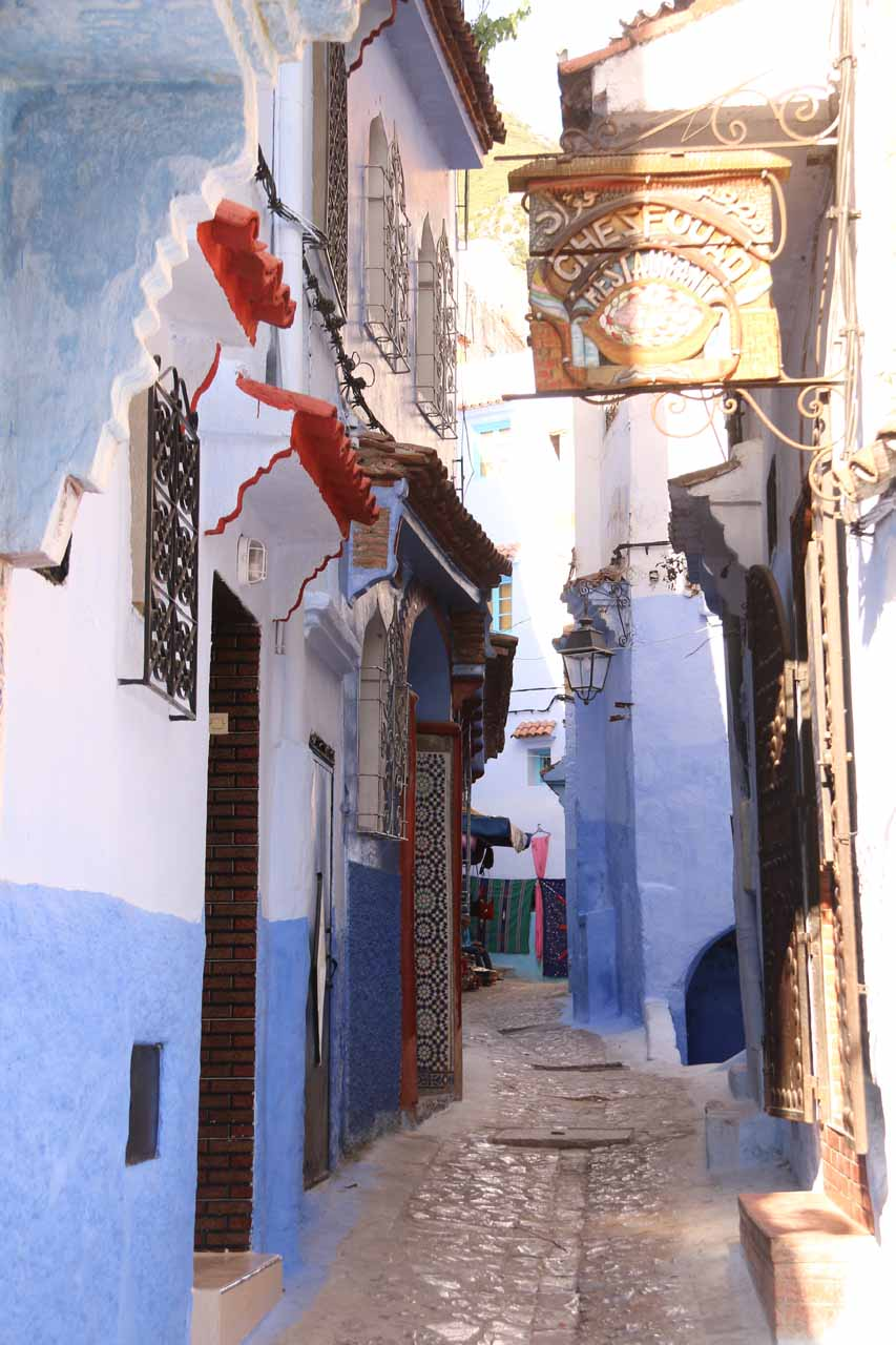 It seemed like we could've easily gotten lost in Chefchaouen's medina and it wouldn't matter