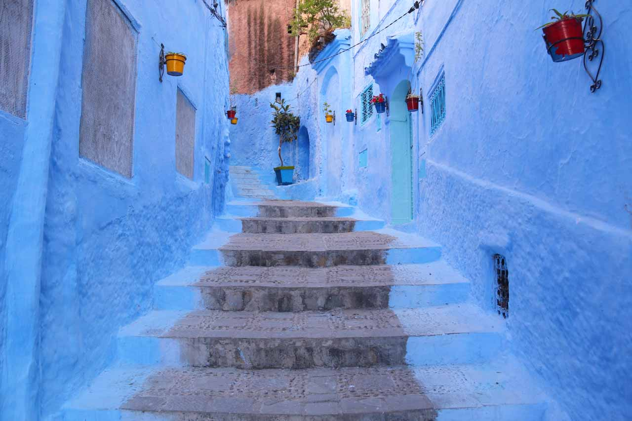 Early morning in Chefchaouen
