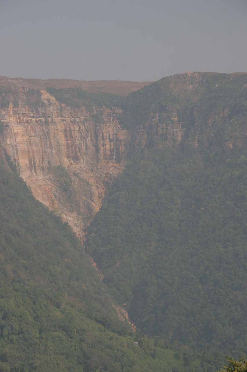 Some tall waterfall in Cherrapunjee