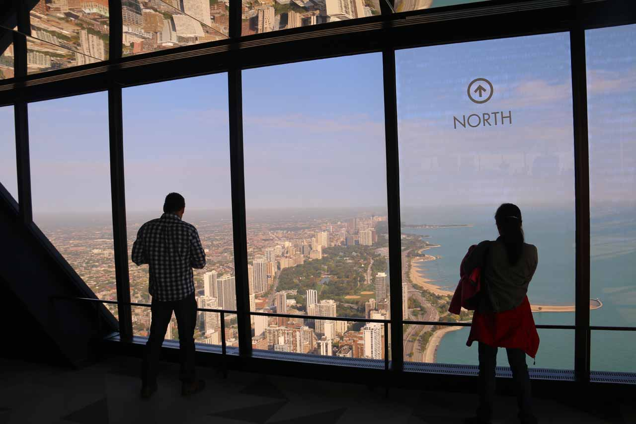 Inside the 360 Observation Deck