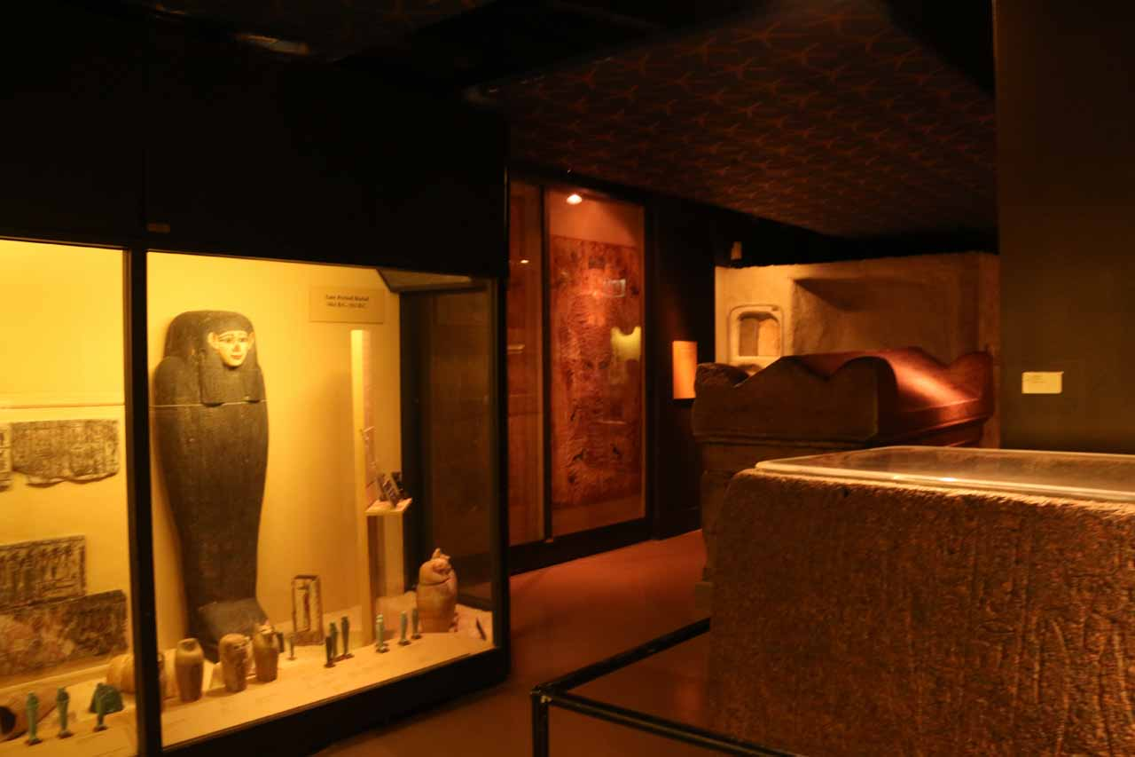 The Egyptian exhibit at the Field Museum