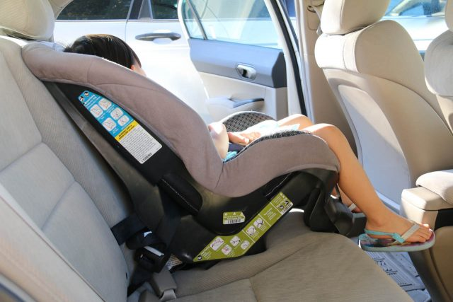 We've saved a lot of money by bringing this lightweight five-point-harness child car seat on our international trips involving driving or extensive touring in a tour operator's car