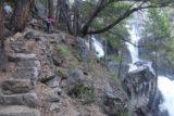 Chilnualna_Falls_17_037_06172017 - Mom making her way up past the First Chilnualna Falls