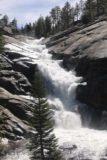 Chilnualna_Falls_17_243_06172017 - Closer and more angled look at the multi-tiered cascade of the last of the Chilnualna Falls