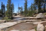 Chilnualna_Falls_17_266_06172017 - Looking back at the overflow that had wet the slippery granite on the way to get closer to the last of the Chilnualna Falls during our June 2017 hike