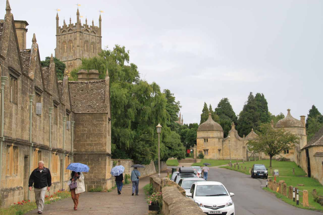 Making our way back to the car park for Chipping Campden