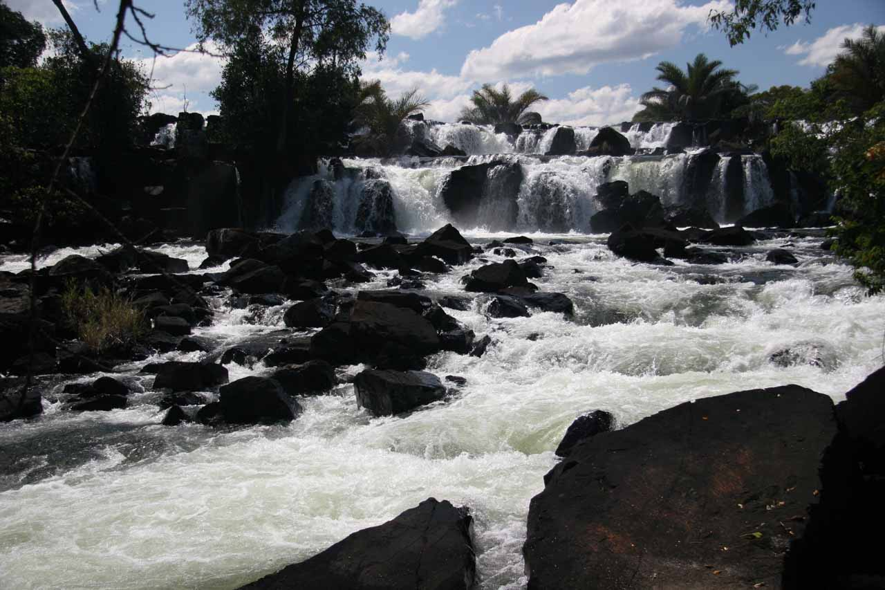 Frontal view of the Kaela Rapids