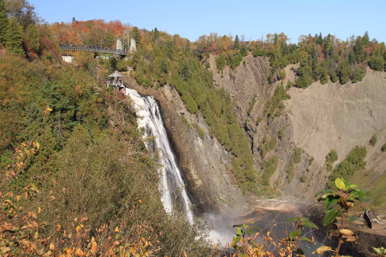 First look at the Chute Montmorency