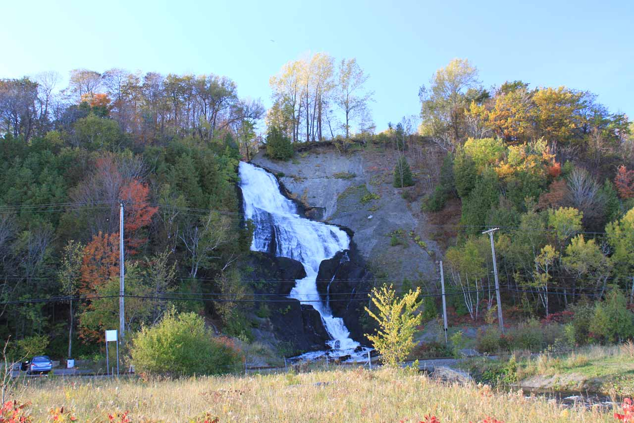 Contextual view of Bridal Veil Falls