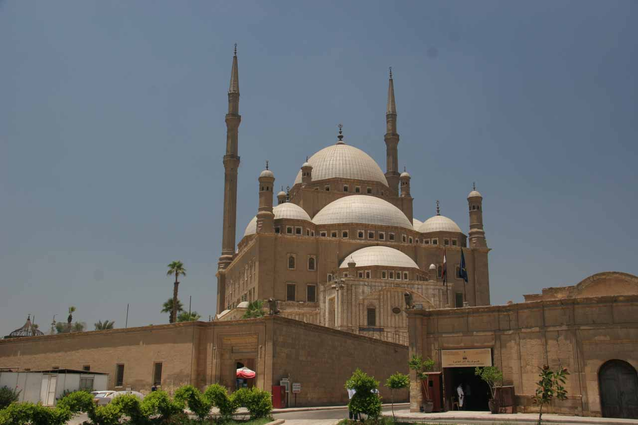 The Mohammed Ali Mosque in the Citadel