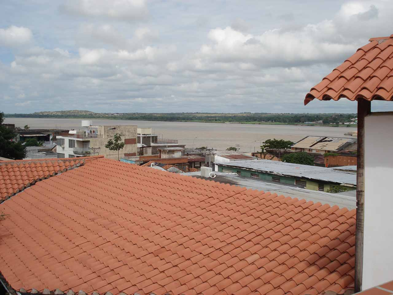 View from the roof of the Posada Angostura