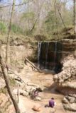 Clark_Creek_NA_034_03152016 - There were some other folks who were already at this attractive waterfall enjoying some relaxing moments