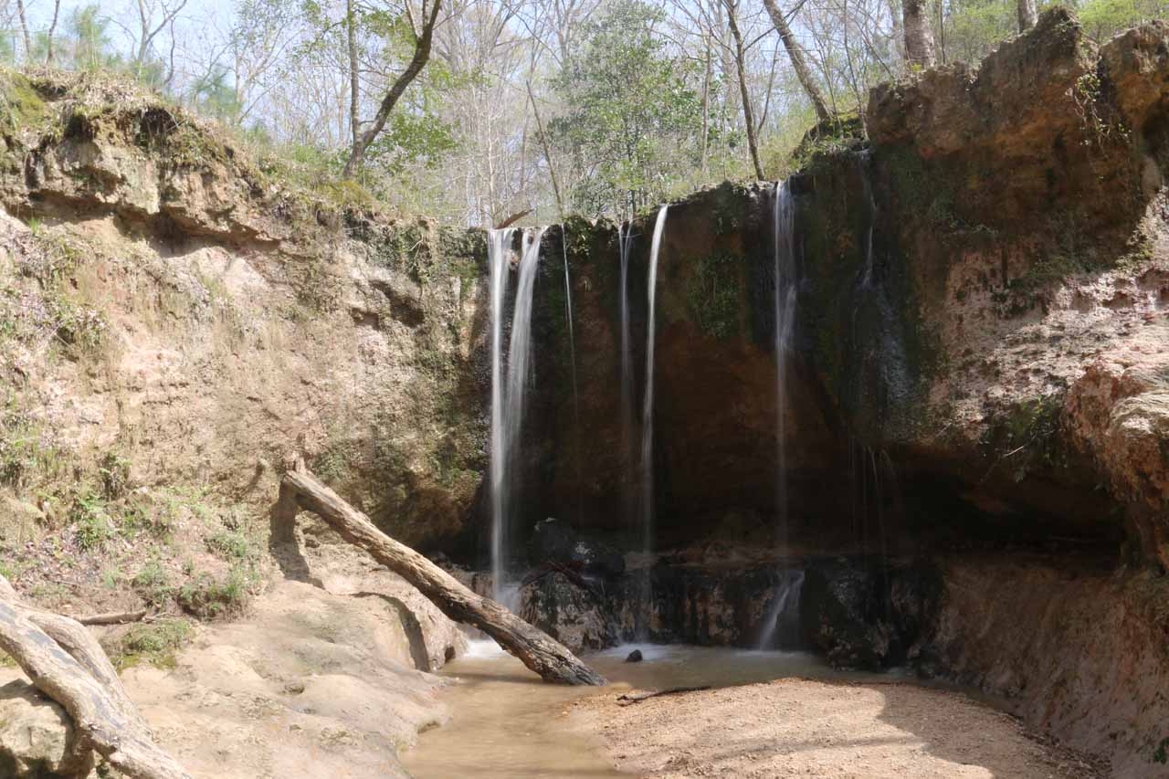 This was the first of the Clark Creek Waterfalls (and probably the most attractive one of the lot)
