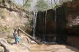 Clark_Creek_NA_061_03152016 - Julie and Tahia checking out the first of the Clark Creek Waterfalls