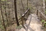 Clark_Creek_NA_101_03152016 - Then, the Waterfall Trail descended this long set of wooden steps