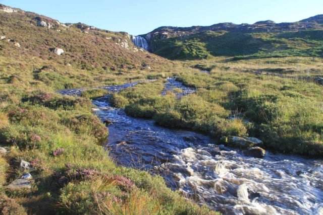 Clashnessie_060_08252014 - Following along the Clashnessie River without needing to cross it on the alternate path to the Clashnessie Falls