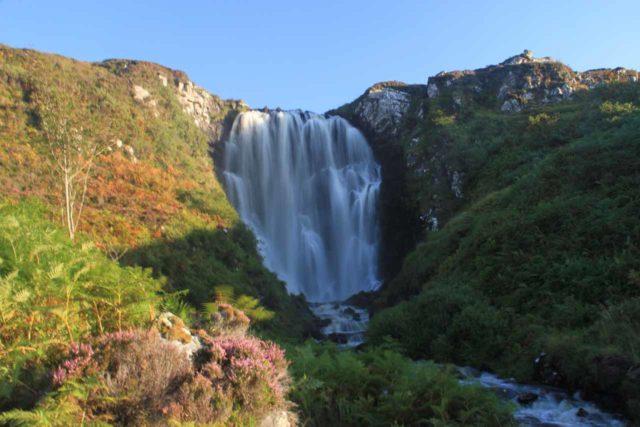 Clashnessie_074_08252014 - The Clashnessie Waterfall or Clashnessie Falls