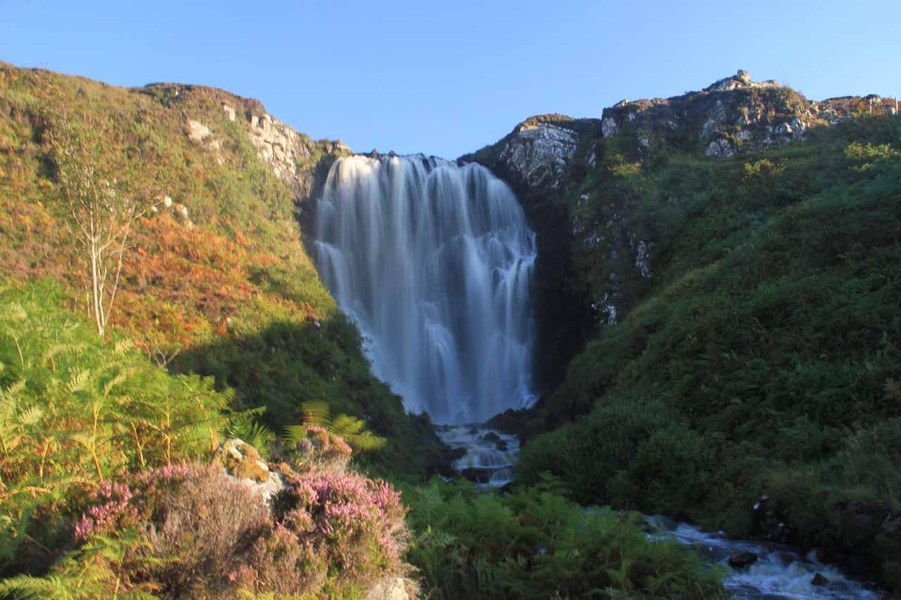 The Clashnessie Waterfall