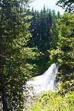 Clear_Creek_Falls_007_06212021 - Partial profile view of the upper drop of Clear Creek Falls