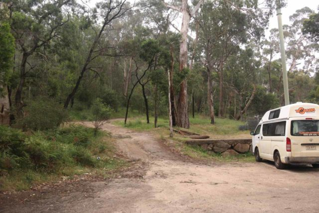 Clematis_Falls_001_11142017 - This was the trailhead and car park next to the Halls Gap Recreational Oval, which I believe would have been the more common start to hike to Clematis Falls