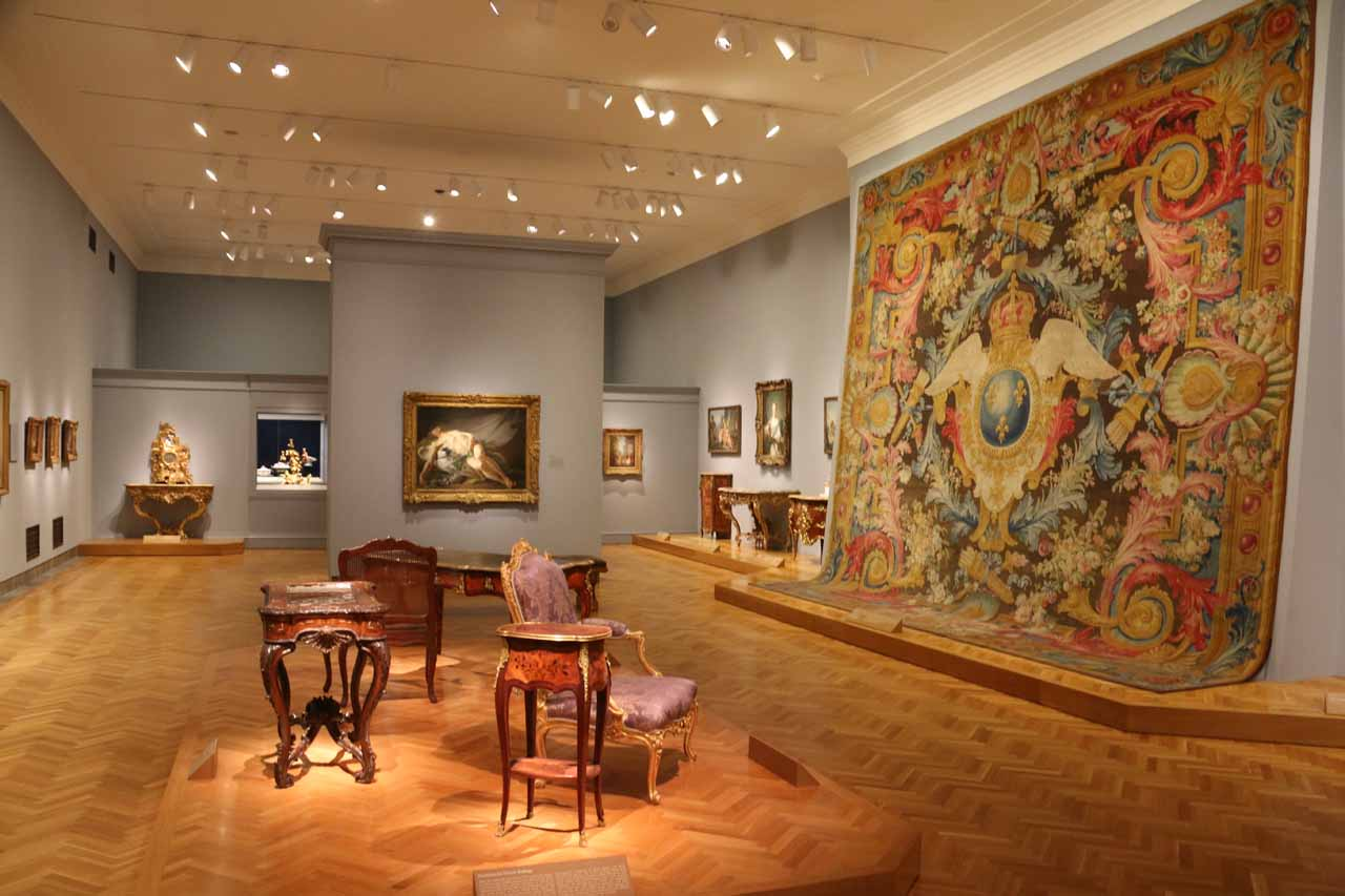 Inside Cleveland's Museum of Art