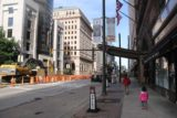 Cleveland_242_10042015 - Julie and Tahia walking back to the Hyatt in downtown Cleveland