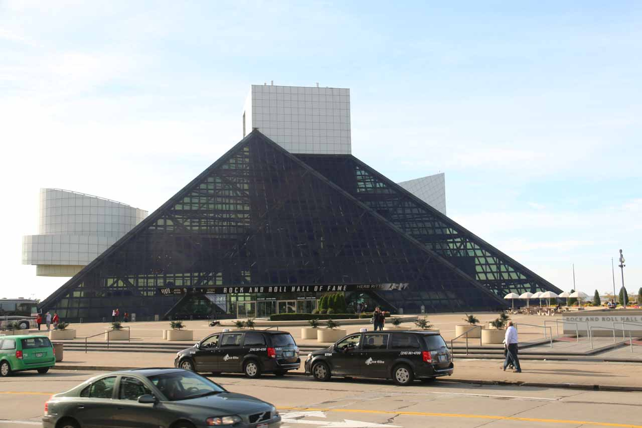 Approaching the Rock and Roll Hall of Fame