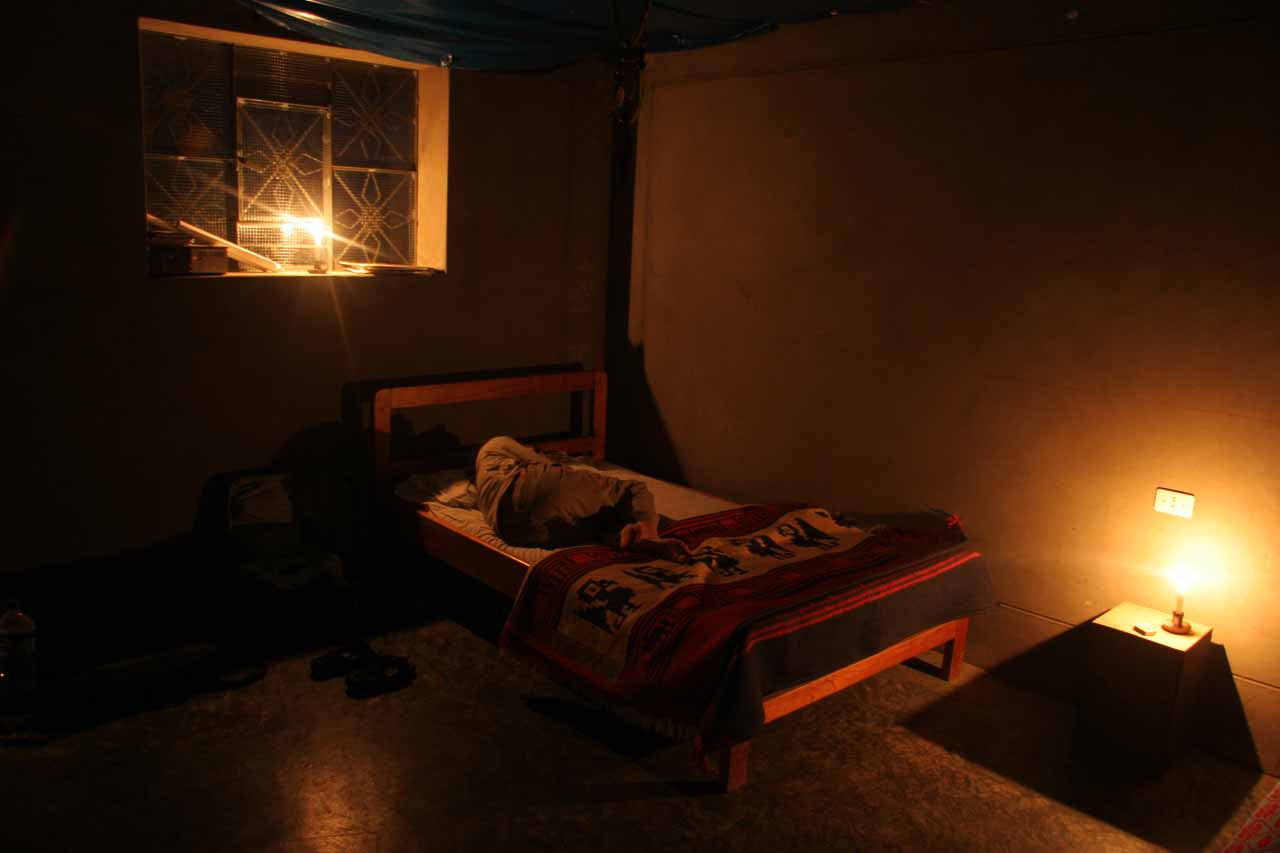 In order to recharge for the hike to the lower Gocta Waterfall, we spent the night in basic accommodations in Cocachimba