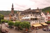 Cochem_106_06182018 - Looking towards the Cochem altstadt from the bridge over the Mosel River