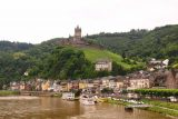 Cochem_113_06182018 - Another regal look over the Mosel River towards the altstadt of Cochem from the bridge over the Mosel