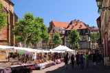 Colmar_011_06202018 - Checking out some outdoor market in one of the plazas in Colmar