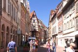 Colmar_013_06202018 - Walking through some of the not-yet-busy walking streets of Colmar