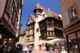 Colmar_029_06202018 - Looking towards one of the oldest buildings in Colmar