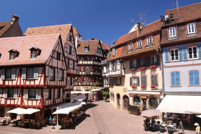 Colmar_046_06202018 - Charming cobblestoned streets, cute half-timbered buildings, and loads of history were what made us savor our limited time in the city center of Colmar