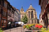 Colmar_067_06202018 - Looking towards a different end of the St Martin Church in Colmar