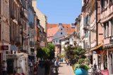 Colmar_091_06202018 - Walking through more charming pedestrian streets of Colmar while en route to Petite Venise