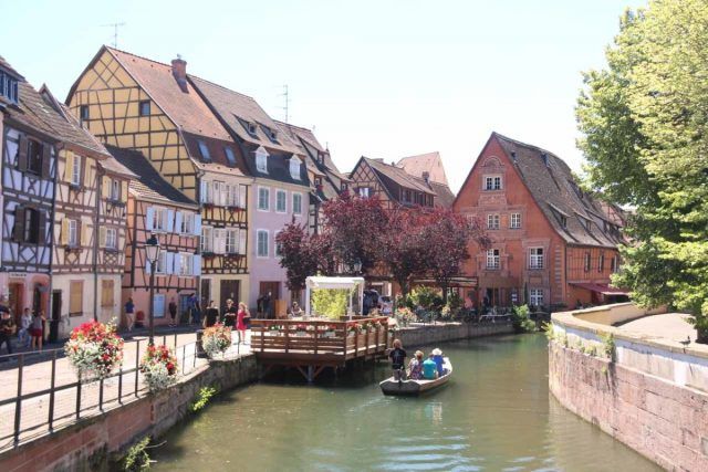 Colmar_128_06202018 - The Cascades de Tendon were merely our waterfalling excuse to visit the charming city of Colmar, which featured its own 'Little Venice' flanked by German-style half-timbered buildings